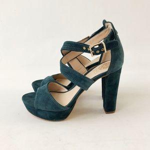 New! Vince Camuto Shayla Suede Platform Heels 8